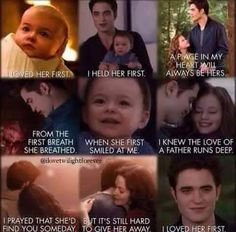 Edward and Renessee..... It's such a sweet father daughter relationship.