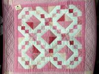 Jewel Box wall-hanging (small) pink