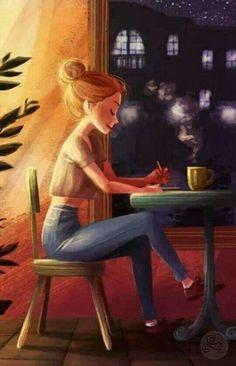 Art And Illustration, Hipster Illustration, Cartoon Kunst, Cartoon Art, Girly Drawings, Art Drawings Sketches, Fantasy Kunst, Fantasy Art, Photo Images