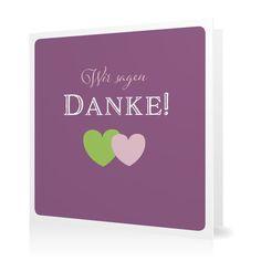 Dankeskarte Amors Pfeil in Lavendel - Klappkarte quadratisch #Hochzeit #Hochzeitskarten #Danksagung #Foto #kreativ #modern https://www.goldbek.de/hochzeit/hochzeitskarten/danksagung/dankeskarte-amors-pfeil?color=lavendel&design=e15b8&utm_campaign=autoproducts