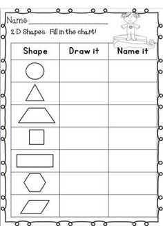 math worksheet : phonics worksheets digraphs blends and more  phonics  : Maths 2d Shapes Worksheets