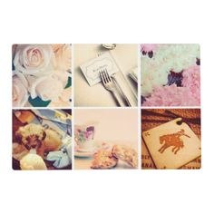Custom Instagram Photo Collage Placemat - template gifts custom diy customize
