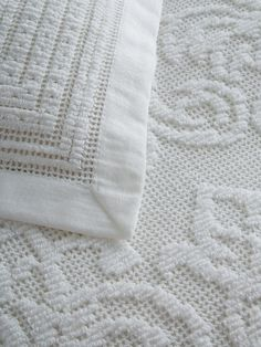 Semi-Sheer Chenille Paisley Coverlette from Most-Wanted Bedding on Gilt Bedding for master bedroom