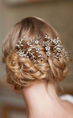 Inspiring bride hair wedding fashion style