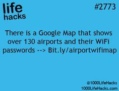 Life hack: how to get airport wifi passwords