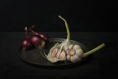 Red onions & garlic - null