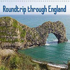 Roundtrip through England (Wall Calendar 2021 300 × 300 mm Square) Marke: Babett Paul - Babett's Bildergalerie England, Languages, Stability, Turning, Spiral, Water, Outdoor, Plastic