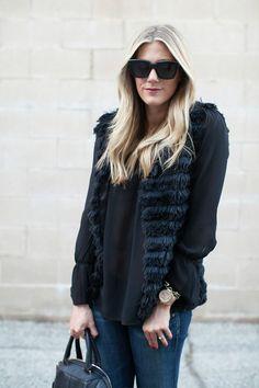 edf56b917e85 209 Best Faux Fur Vests images
