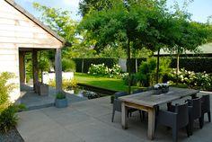Though age-old within notion, your pergola has been having a modern day renaissance these days. Back Gardens, Outdoor Gardens, Backyard Patio, Backyard Landscaping, Garden Deco, Balcony Garden, English Country Gardens, Contemporary Garden, Garden Modern