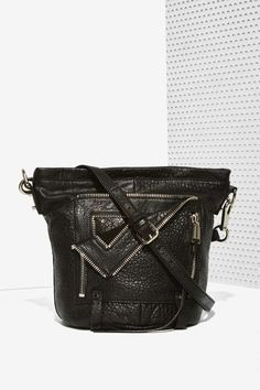 She + Lo Let It Ride Leather Bucket Bag