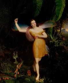 the supernatural tales blog supernatural shakespeare daniel maclise priscilla horton as ariel 1838
