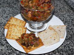 Veja a Deliciosa Receita de Receita de Antepasto de beringela e ab�bora italiana. É uma Delícia! Confira!