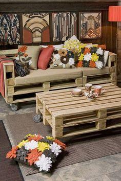 decoração com almofadas de feltro