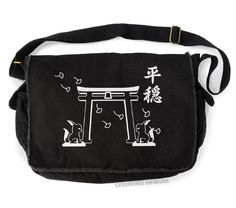 Funny Maybe Swearing Will Help Black Canvas Satchel Bag