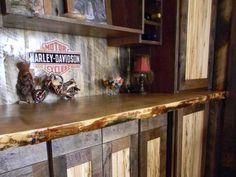 Custom Reclaimed Wood Cabinets [Balsam Wide Plank]