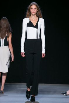 A look from the Narciso Rodriguez Spring 2015 RTW collection.