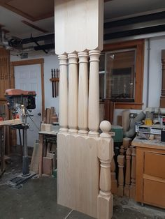 New Orleans pattern porch and newel posts.