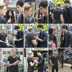 """""""#Shadowhunters 1.05 - Moo Shu To Go. / Part 9.  Photo credit: Freeform/KSiteTV. : Sven Frenzel.  Full pictures on my Twitter/Tumblr."""""""