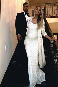 Russell and Ciara Wilson Beyonce Pregnant, Ciara Wilson, Russell Wilson, Girl Fashion, Fashion Outfits, Maternity Dresses, Maternity Style, Formal Dresses, Wedding Dresses