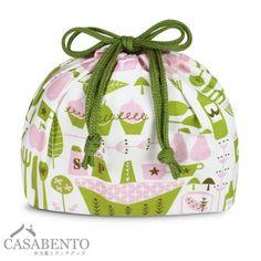London Bento Bag - Pink
