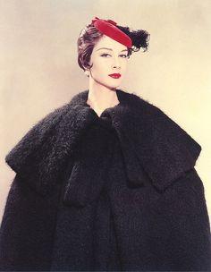 Spanish Coat, photo by Erwin Blumenfeld, New York, 1954
