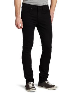 Levi's Men's 510 Skinny Fit Jean, Jet, 28x30 - get black jeans for Buzzy but not in skinny style