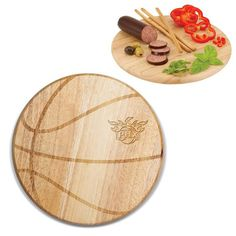 Phoenix Suns Laser Engraved Free Throw Cutting Board Natural