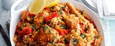 Try our Spanish rice with chicken and chorizo. This easy baked Spanish chicken dish is an easy paella dish with chorizo. Make our easy chicken paella recipe Chorizo Recipes, Tapas Recipes, Mexican Food Recipes, Cooking Recipes, Ethnic Recipes, Spanish Recipes, Spanish Food, Spanish Tapas, Rice Recipes