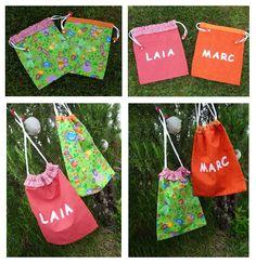 bossa pel berenar infantil / bolsa para la merienda para niños / baby bag for meal