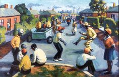 New Brighton Port Elizabeth - George Pemba. George P used to work for my grandfather. Gerard Sekoto, South Africa Art, Social Realism, New Brighton, South African Artists, Port Elizabeth, Amazing Art, Pictures, Painting