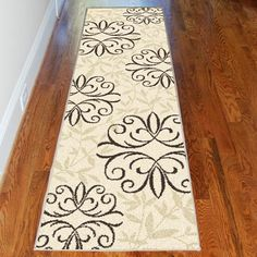 Better Homes and Gardens Iron Fleur Runner Rug - Walmart.com