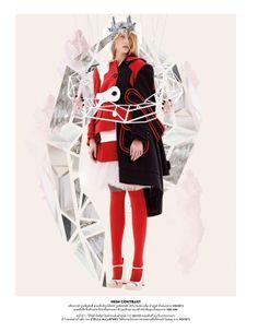 visual optimism; fashion editorials, shows, campaigns & more!: out of imagination: karolina sikorska by nat prakobsantisuk for vogue thailan...