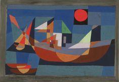 Paul Klee - Ruehende Schiffe, 1927