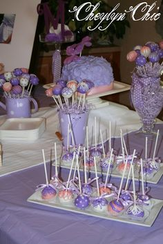 Pink and Lavender butterflies Baby Shower Decorations | ... butterflies that were inspired by this Love and Lavender Baby Shower