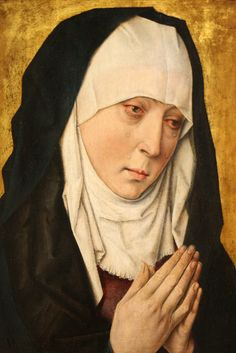 Mater Dolorosa (Sorrowing Virgin), 1480/1500. Workshop of Dieric Bouts.