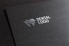 dental logo Dental Clinic Logo, Dentist Logo, My Dentist, Teeth Whitening, Graphic, Branding Design, Logo Design, Business Cards, Clinic Design