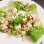 Clean Chicken Salad Lettuce Wraps