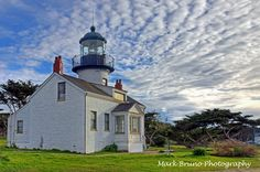 Point Pinos Lighthouse in Pacific Grove - Shot by Mark Bruno Photography (HDR Photograph)