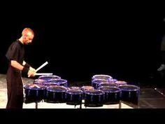 AMAZING!!! Tim Jackson (Blue Devils) 18 Tenor Drum Solo