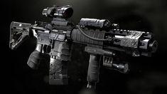 My favorite gun M16 Rifle, Assault Rifle, Weapons Guns, Guns And Ammo, Firearms, Handgun, Shotguns, Steampunk Weapons, Future Weapons