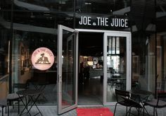 Joe & The Juice is a chain coffee shop. Besides coffee they serve a wide range of fresh made juices, detox shots and shakes. Joe And The Juice, Juices, Coffee Shop, Detox, Shots, Range, Fresh, Chain, Shopping
