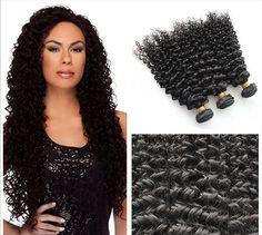Virgin Malaysian Deep Curly Human Hair Bundles by HeartofWigs
