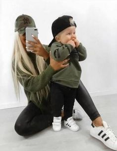 Mother Son Matching Outfits, Mom And Baby Outfits, Cute Baby Boy Outfits, Cute Baby Clothes, Toddler Outfits, Kids Outfits, Man Clothes, Boy Clothing, Cute Baby Pictures