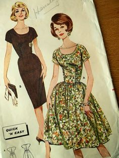 Vntage Butterick Sewing Pattern 2315
