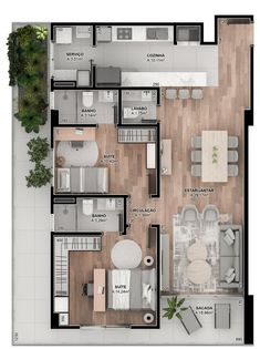 Small Modern House Plans, Modern Small House Design, Sims 4 House Design, Small House Floor Plans, Home Modern, Dream House Plans, Sims House Plans, House Layout Plans, Bungalow House Plans
