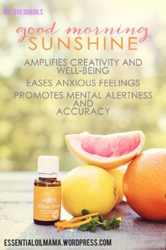 YLEO's Citrus Fresh. One of my favorite essential oils!!!! Smells amazing