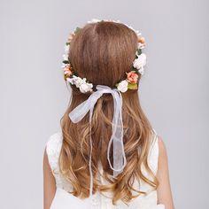 [£ Foam/Plastic With Ribbon Headbands ( Including Wrist Corsage) - JJ's House Ribbon Headbands, Wrist Corsage, Event Dresses, Blog, Flower, Tutorials, Wristlet Corsage, Flowers