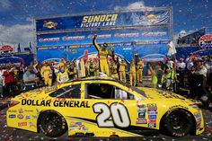 2016 premier series winners:    Sunday, November 13, 2016  19. Matt Kenseth (second win), New Hampshire 301 (at New Hampshire). Get race results here.  -    Photo Credit: Getty Images  -    Photo: 19 / 36