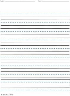 Exceptional Writing Worksheet From Suly4 On TeachersNotebook.com   (1 Page)   Writing  Practice  Blank Writing Sheet