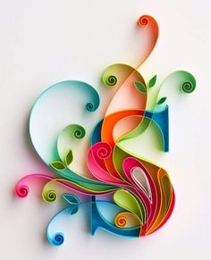 "Quilled ""S"""
